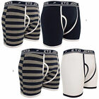 2 Pairs Mens Eto Jeans Boxer Shorts Designer Underwear Trunks Cotton Brief Gift