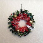 "HAND-CRAFTED CHRISTMAS BAUBLE ""RAGGIE"" WREATHS - FULL SIZE"