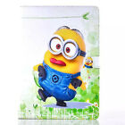 For iPad 2 3 4 & Air Pro 9.7 Cartoon Minions Despicable ME PU Leather Case Cover