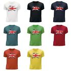 STUFF4 Boy's Round Neck T-Shirt/UK Union Jack Flag/CS