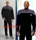 Star Trek Nemesis Voyager Captain Sisko Uniform Outfit Costume Custom Made#29