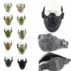 Nylon Breathable Tactical Half Face Protective Mask CS Game/Airsoft/Paintball