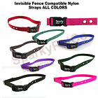 Sparky Pet Invisible Fence Compatible Nylon Replacement Straps ALL COLORS