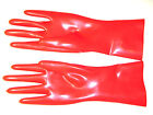 Short Latex Gloves. Wrist Length. Sizes S - L by Honour London