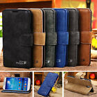 Genuine Leather Flip Wallet Case Cover For Apple iPhone 4 4S Brand new