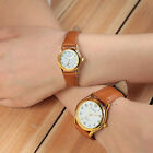 Luxury Couple Lovers Stainless Steel Band Round Dial Men's Quartz Wrist Watches