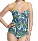 Panache Cleo Swim Carmen Swimsuit Tropical Print CW0110