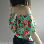 Off The Shoulder Gypsy Style Blouse  Top Size 8-14