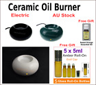 Electric Oil Burner Ceramic Aromatherapy Diffuser  Essential Oil  & FREE GIFTS!