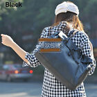 Fashion Womens Leather Doctor Style Casual Handbag Shoulder Bag Tote Buckle Hot