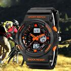 SD-241 Multifunction Dual Display Shockproof Sports LED Luminous Watches MKLG