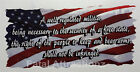 American Flag 2nd Amendment Vinyl Decal Sticker USA quote united states rights