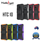 TPU + Silicone Shockproof Kickstand Case Cover for HTC 10, HTC M 10