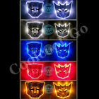LED Transformers Autobot 3D Logo Emblem Badge Decal Car Sticker New