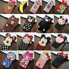 3D Soft Silicone Phone Case Cover Shell For iPhone 5/5S/5C 6/6S Plus SE