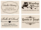 Custom Self Inking Personalized business return address name rubber stamp