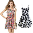 Summer Women's Clothing Fashion Chiffon Printing Strapless Floral Collar Dress