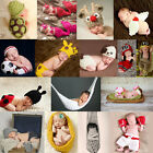 COOL Newborn Baby Girls Boys Crochet Knit Costume Photo Photography Prop Outfits