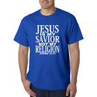 JESUS Is My SAVIOR Not My RELIGION T-Shirt - Christian Catholic God Saves