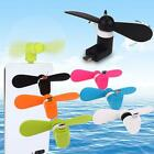 Portable Android Phone Summer Super Mute USB Cooler Micro Mini Fan For Phones