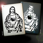iPad / Tablet Jesus Decal Sticker, Religious, Christian. All sizes/Two colours
