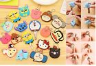Key Caps Top Cover Animal Shape Key Ring Head Chain Charm Chain Identifier Tag