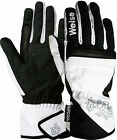 Weise Gemma Ladies White Black Leather Waterproof Motorcycle Gloves RRP £35.99