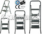 STRONG FOLDABLE 2,3,4 STEP LADDER NON SLIP TREAD STEP LADDER SAFETY REACH HOME