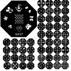20pcs Mix Designs Nail Art Stamp Template Image Stamping Plate DIY Manicure