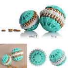 Pet Natural Rubber Dental Treat Oral Teeth Cleaning Ball Toy For Dog Health Care