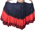 Cotton Gypsy Skirt 4 Tier 25 Yard Belly Dance available 30 Colors