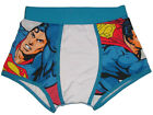 NWT DC COMICS HEROES SUPERMAN COTTON BOXER BRIEF TRUNK UNDERWEAR MENS L, XL