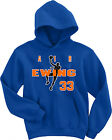"Patrick Ewing New York Knicks ""Air Ewing"" jersey SWEATSHIRT HOODIE on eBay"