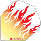 TARGET VISION TRANSLUCENT RED FLAMES DART FLIGHTS - Choose number of sets !