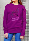 Equestrian HORSE Riding Adults FLEECE TOP JERSEY JUMPER,Run wild and free