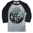 W.A.S.P. T-shirt Blackie Lawless The Last Command. Shock rock. Hair metal. tour
