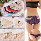 Women Sexy Lace V-string Underwear Briefs Panties G-string Thongs Lingerie Cute