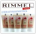 2 x RIMMEL Lasting Finish 25hr NUDE Foundation - 30ml In Total - Various Shades