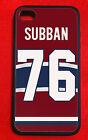 P.K. Subban Montreal Canadiens IPhone 4/4s 5/5s 5C 6 6 Plus Case Cover $44.99 USD on eBay