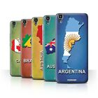 STUFF4 Back Case/Cover/Skin for Huawei Y6/Flag Nations