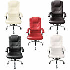 Best Work Chairs - Executive Office Chair Luxury PU Leather Swivel High Review