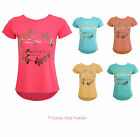 NEW LADIES PRINT SLOGAN WOMENS LIFE IS BEAUTIFUL DIPPED HEM TSHIRT TOP