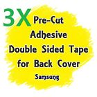 Lot of 3 Adhesive Double Sided Tape For Samsung Battery Door Back Cover Glass