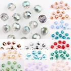 Kyпить 50/100Pcs AB Plated Faceted Czech Crystal Glass Round Loose Spacer Bead 4MM на еВаy.соm