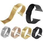 Milanese Metal Watch Band Strap Magnetic Bracelet For Apple Watch iWatch 38/42m