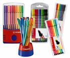 Stabilo Pen 68 Fibre Felt Tip Colouring 1.0mm Pens - All Pack Sizes
