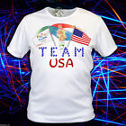 NEW Rio Olympics Game 2016 T-shirt of team USA / unisex T-shirt