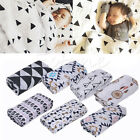 120*120cm Baby Blanket Bedding Covers Boys Girls Aden Anais Muslin Swaddle New