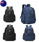 Nappy Mother Mummy Backpack Diaper Bags Baby Newborn Pad Changing Shoulder Bag