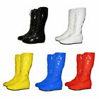 Внешний вид - PRO Wrestling costume Boots YELLOW BLACK RED WHITE BLUE